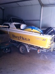 CARIBBEAN BOAT AND TRAILER FOR SALE