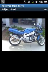FOR SALE 1994 YAMAHA FZR 600cc ROADBIKE IN GUNNEDAH
