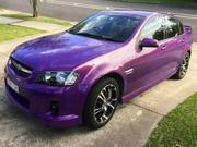 Holden 2007 VE Commodore SV6 6 Speed Manual Purple Low Ks