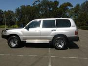 2015 toyota Toyota Landcruiser RV (4x4) (2001) 4D Wagon Manual